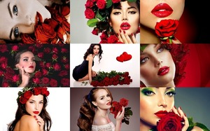 Red Roses & Red Lips - Rote Rosen & rote Lippen