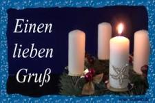 einen lieben Gruß zum 1. Advent