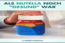 Damals war Nutella noch gesund