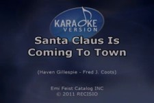 Bing Crosby Santa Claus Is Coming To Town