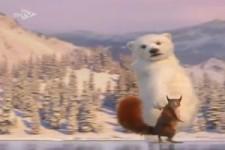 Tiere auf dem Eis