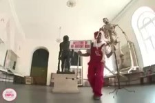 Freches Skelett