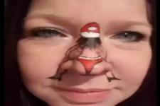 Weihnachts-Nase