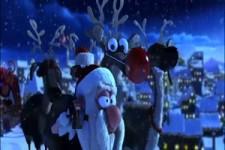 Wilde Fahrt des Weihnachtsmanns