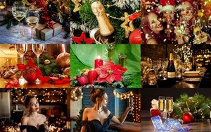 Christmas Champagne - Weihnachts-Champagner