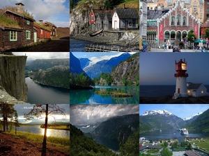 Der Süden Norwegens