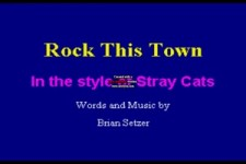 Stray Cats The - Rock This Town