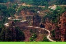 Der dodenweg in Bolivien