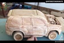 Holzauto bauen