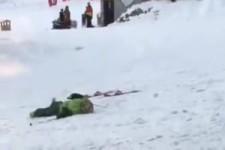 Das wird wohl nichts mehr mit dem Ski fahren