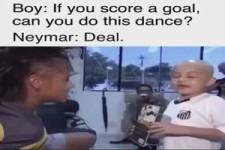 Tanzen wie Neymar