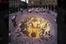 3D Strassenmalerei