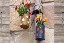 nachhaltige Gartendeko-Ideen