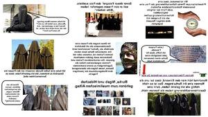 Burka, Nigab und Hidschab