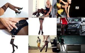 Black Stockings - Schwarze Strümpfe