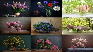 Jolies fleurs .. - Schöne Blumen