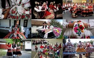 Hungarian Folk Costumes 1 - Ungarische Trachten 1