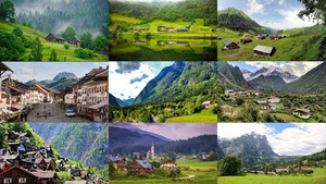 VILLAGES IN THE MOUNTAINS 2