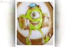 Coole Latte - Art