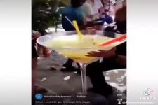 Das ist ein ordentlicher Cocktail