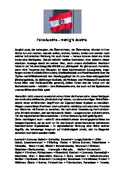 Felix Austria - mehlig's Austria