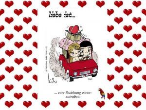 Liebe ist... Eine Reise ins Glueck