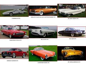 20 Autos aus den Jahren 1950-1960-1